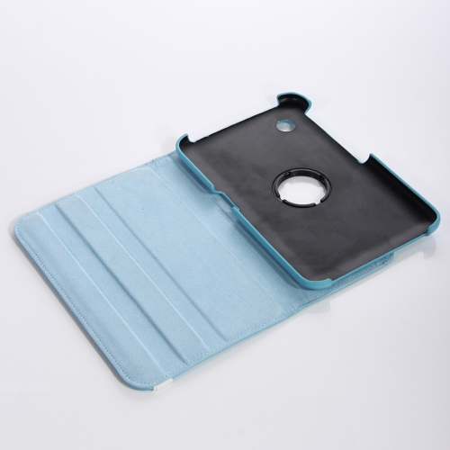 Samsung Galaxy Tab 3 T310 360° ROTATING CASE - BABY BLUE 8""