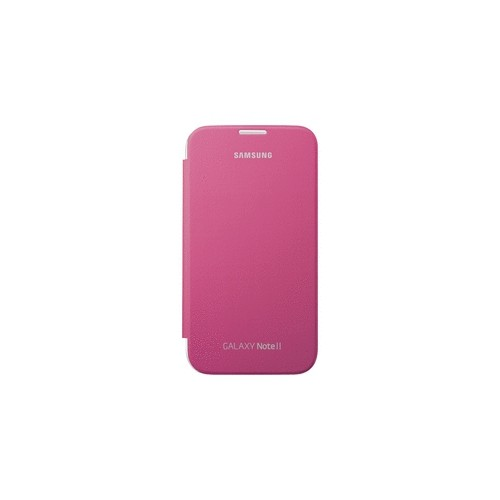 Flip Case to Fit Samsung Galaxy Note 2 Flip Cover - Hot Pink