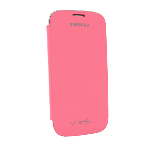 Flip Case to Fit Samsung Galaxy S3 Flip Cover - Pink