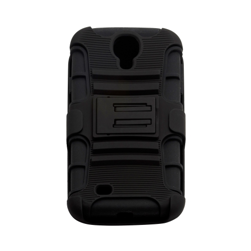 Samsung Galaxy S4 Extreme Rugged Impact Hard Case Holster - Black