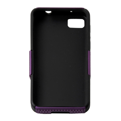 Esource Parts Fitted Soft Shell Case for Blackberry Z10 - Purple
