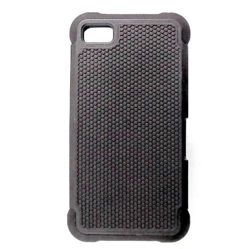 Hybrid Armor Defender Case for Blackberry Z10 - Black