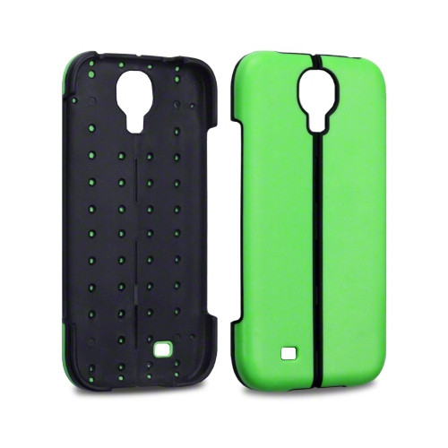 Esource Parts Fitted Hard Shell Case for Samsung Galaxy S4 - Green