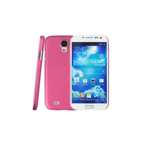 Esource Parts Fitted Hard Shell Case for Samsung Galaxy S4 - Pink