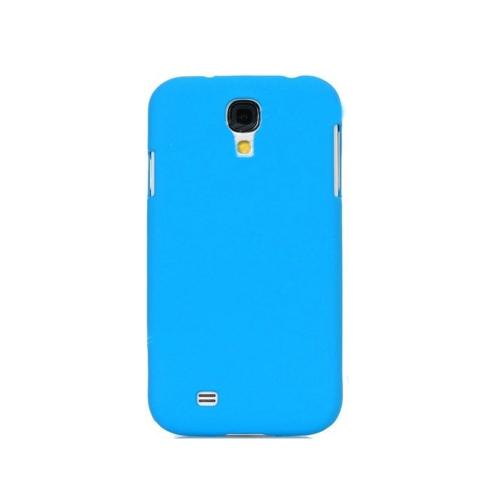 Samsung Galaxy S4/ i9500 Ultra Slim Matte Case - Aqua Blue