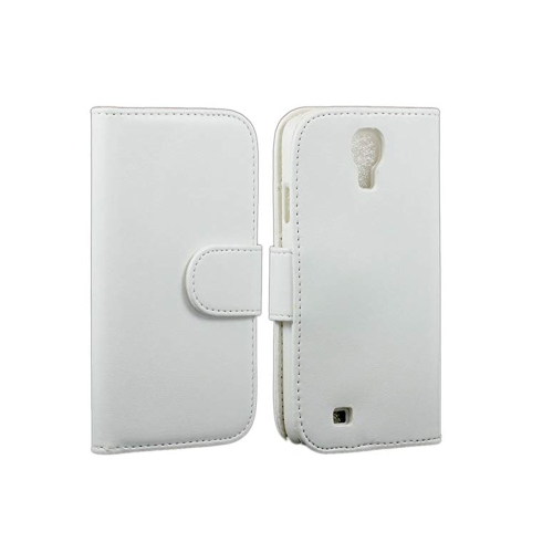Samsung Galaxy S4/ i9500 PU Leather Case wallet case - White