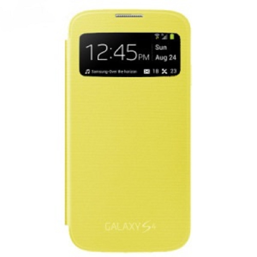 Flip Case for the Samsung Galaxy S4 - Yellow