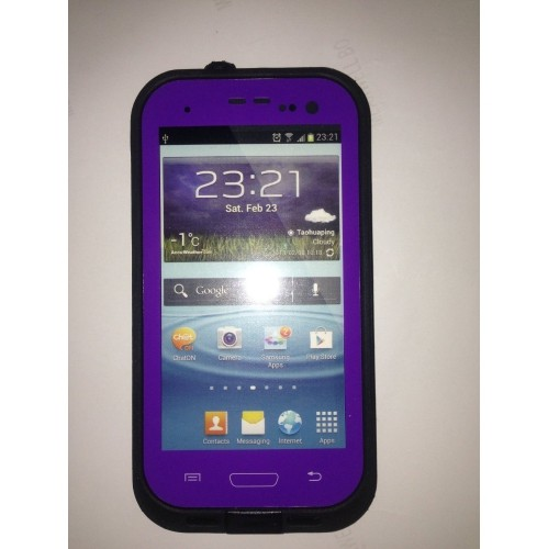 Coque multi-protection pour Samsung Galaxy S3 - Violet