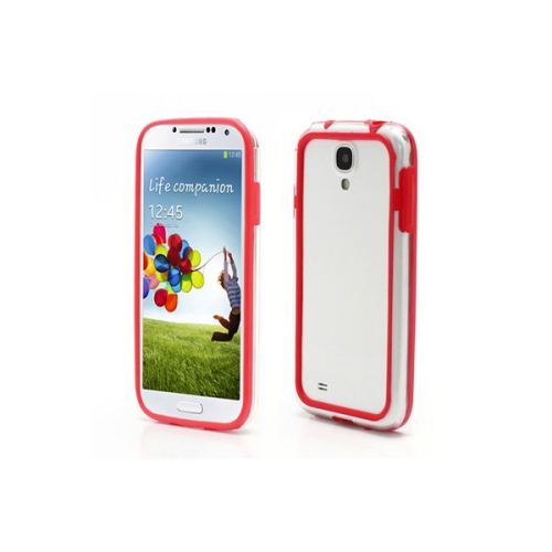 Samsung Galaxy S4 Bumper Case - Red