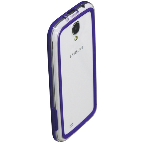 Esource Parts Fitted Hard Shell Case for Samsung Galaxy S4 - Purple