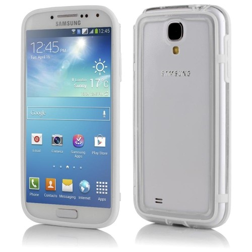 Samsung Galaxy S4 Bumper Case - White