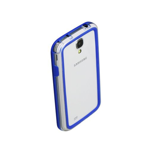Esource Parts Fitted Hard Shell Case for Samsung Galaxy S4 - Blue