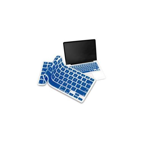 "Coque de clavier pour Macbook 13 ""/ 15"" - Bleu marine"