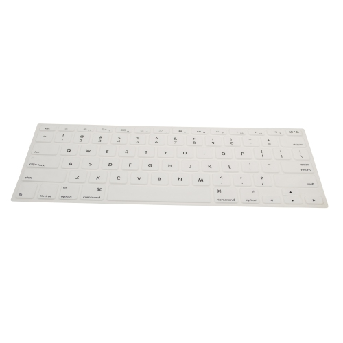 "Macbook 13"" / 15"" Keyboard Skin Cover - White"