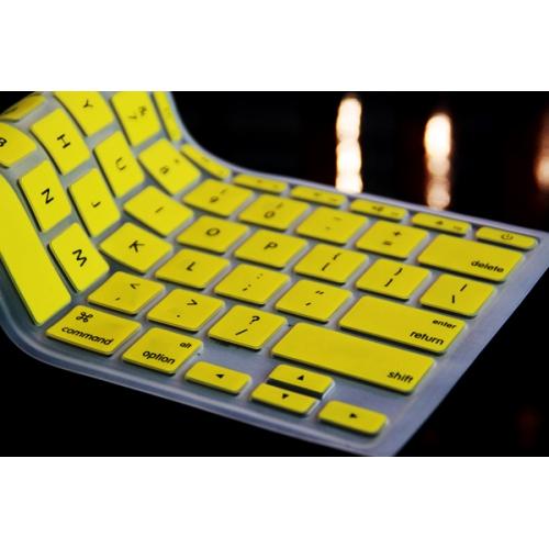 "Coque de clavier pour Macbook 13 ""/ 15"" – Jaune"