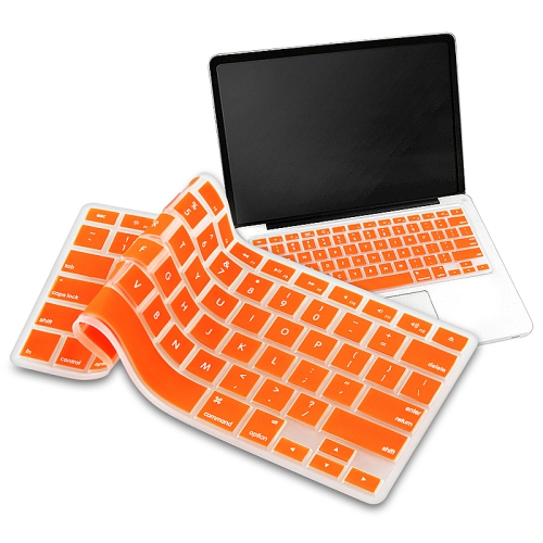 "Coque de clavier pour Macbook 13 ""/ 15"" – Orange"