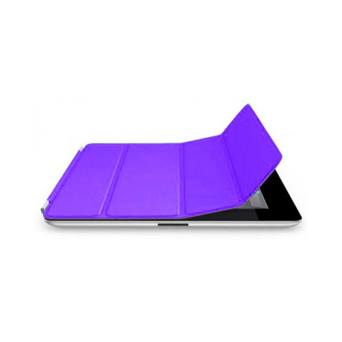 Purple Magnetic Generic Smart Cover For Apple Ipad 2 & 3