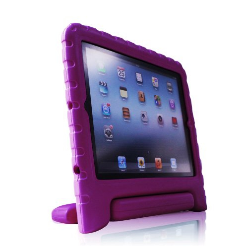 KidBox Cover Case for Apple iPad 2 iPad 3 - Purple
