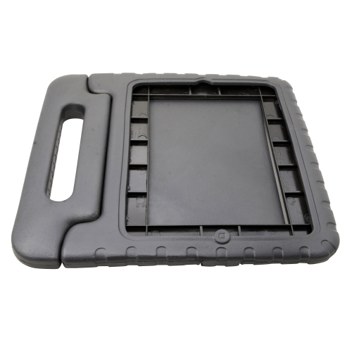 Kid Friendly Foam Cover Case With Folding Handle for Apple iPad 2 iPad 3 - Black