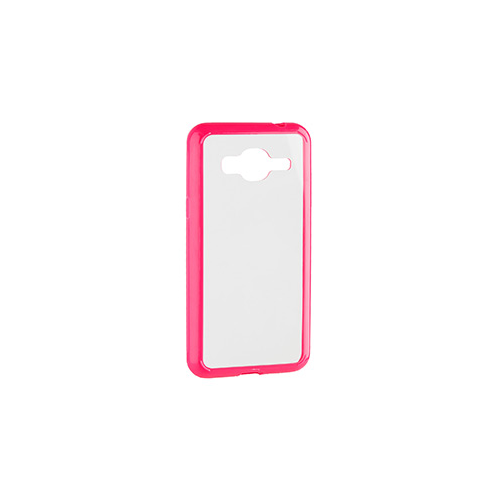 Xqisit Fitted Hard Shell Case for Samsung Galaxy J3 - Pink;Clear