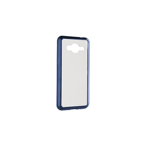 Samsung Galaxy J3 Xqisit Clear/Blue iPlate Odet Case