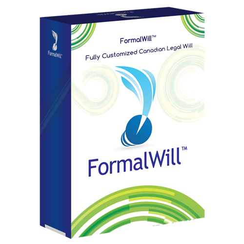FormalWill™ Fully Customized Canadian Legal Will Kit 2017