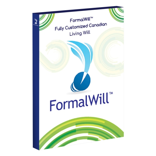 FormalWill™ Fully Customized Canadian Living Will Kit 2018