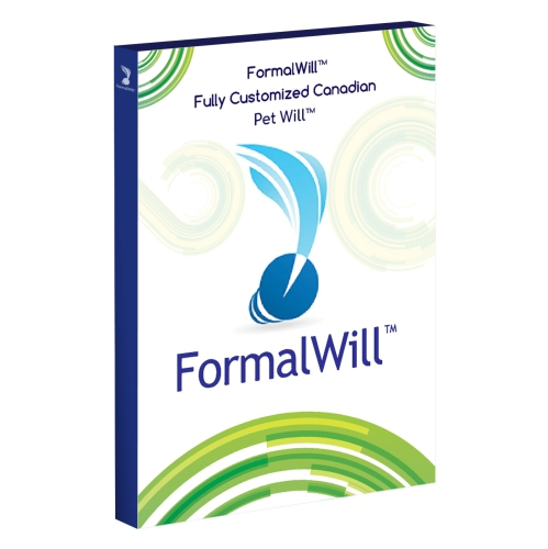 FormalWill™ Fully Customized Canadian Pet Will™ Kit 2019