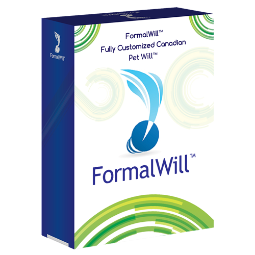 FormalWill™ Fully Customized Canadian Pet Will™ Kit 2018