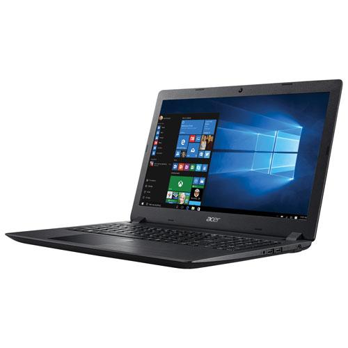 Portable Acer de 15,6 po - Noir (A6-9220 d'AMD/DD 1 To/RAM 6 Go/Windows 10)