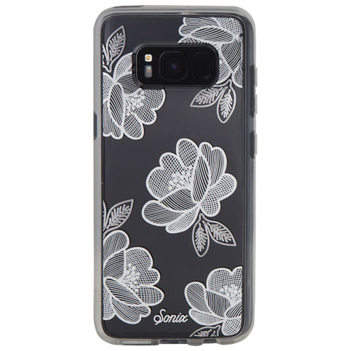 Sonix Samsung Galaxy S8 Fitted Hard Shell Case - Silver Florette