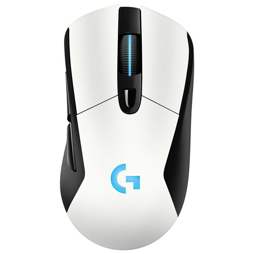 Logitech G703 12000DPI Wireless Optical Gaming Mouse - White