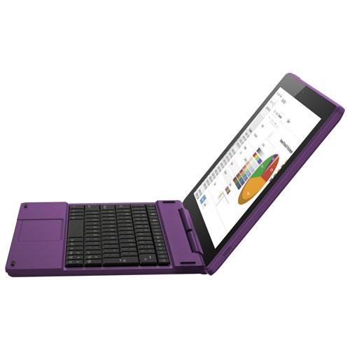 Tablette 10 po 16 Go Android 6.0 Polaroid à processeur Atom X3 d'Intel et clavier - Violet