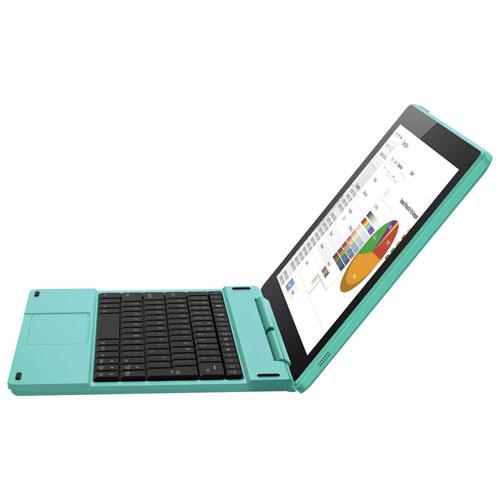 "Polaroid 10"" 16GB Android 6.0 Tablet & Keyboard With Intel Atom X3 64-bit quad core Processor - Teal"