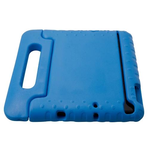 Coque sûre pour les enfants, mousse sûre, résistante aux chocs avec poignée pour iPad Mini – Bleu
