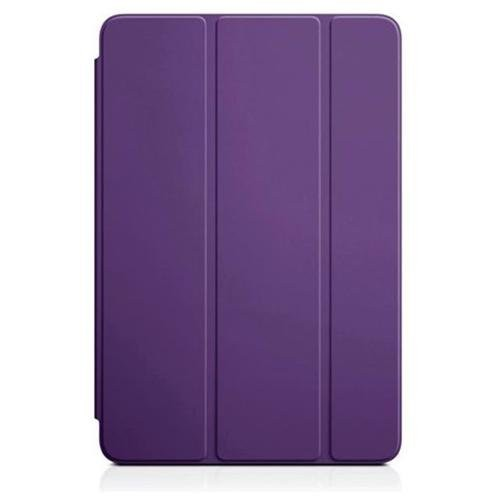 Smart Cover Stand Case for Apple iPad Mini With Back Cover - Purple