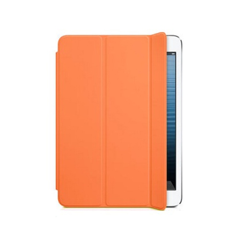 Smart Cover Stand Case for Apple iPad mini 1/ 2/ 3 With Back Cover - Orange