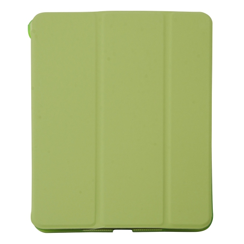 Generic Smart Folding Cover Stand Case for Apple iPad Mini With back cover - Green
