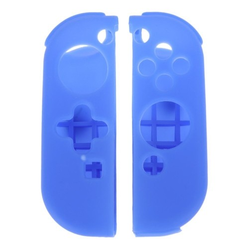 Protective Silicone Case Cover Skin for Nintendo Switch Left and Right Controllers- Blue