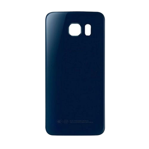 Samsung Galaxy S6 Edge Back Cover Glass Battery Door - Blue
