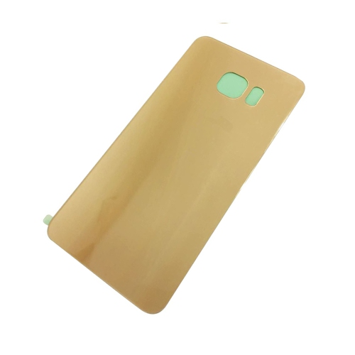 Samsung Galaxy S6 Edge Back Cover Glass Battery Door - Gold