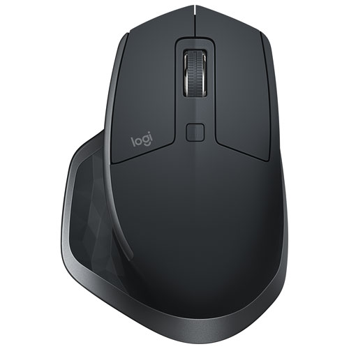 Logitech MX Master 2S Bluetooth Mouse - Black