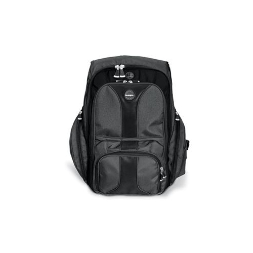 "Kensington Contour Carrying Case (Backpack) for 16"" Notebook - Black"