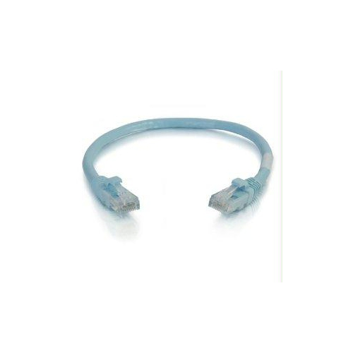 C2G 4ft Cat6a Snagless Unshielded Network Patch Cable - Aqua