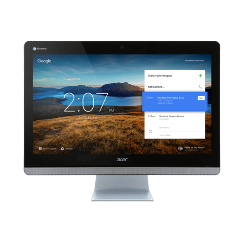 Acer DQ.Z0HAA.001 - Silver/Chrome (Intel Celeron/16GB SSD/4GB RAM/Intel HD Graphics/Chrome Os)