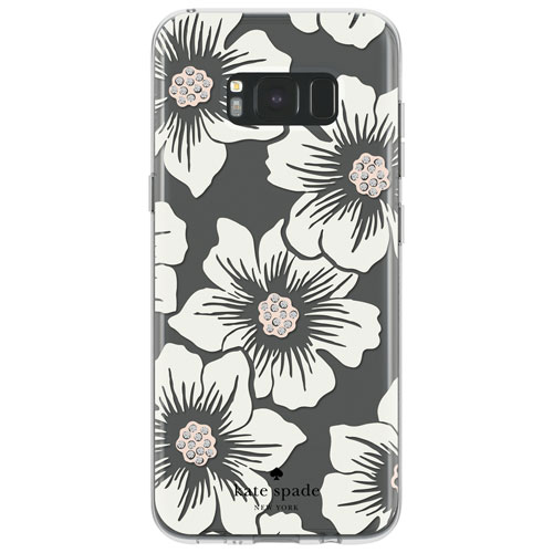 kate spade new york Fitted Hard Shell Case for Galaxy S8+ - Clear