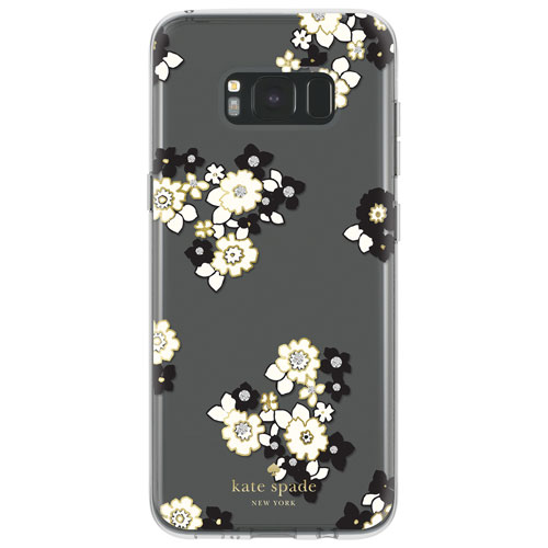 Kate Spade New York Fitted Hard Shell Case for Samsung Galaxy S8 Plus - Black; Clear; Gold; Cream