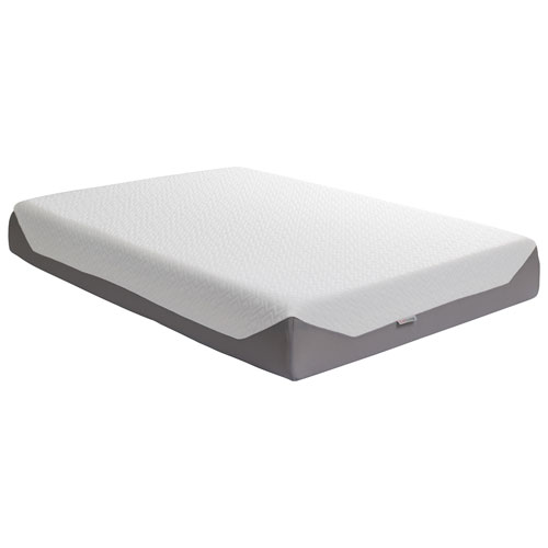 mattress queen firm. corliving sleep medium firm memory foam pillow top mattress - queen