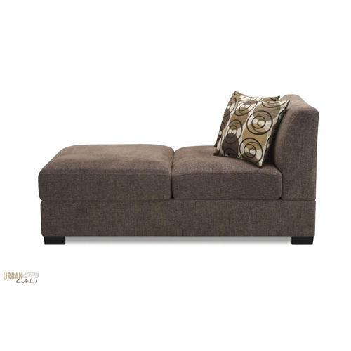 Urban cali hayward linen chaise in sandstone linen fabric for Chaise urban but