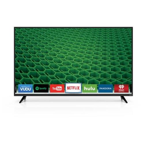 VIZIO D50F-E1 50 INCH 1080P 120HZ SMART-CAST LED TV - REFURBISHED